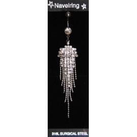 Piercing Buric Multi Hanging Argintiu 1